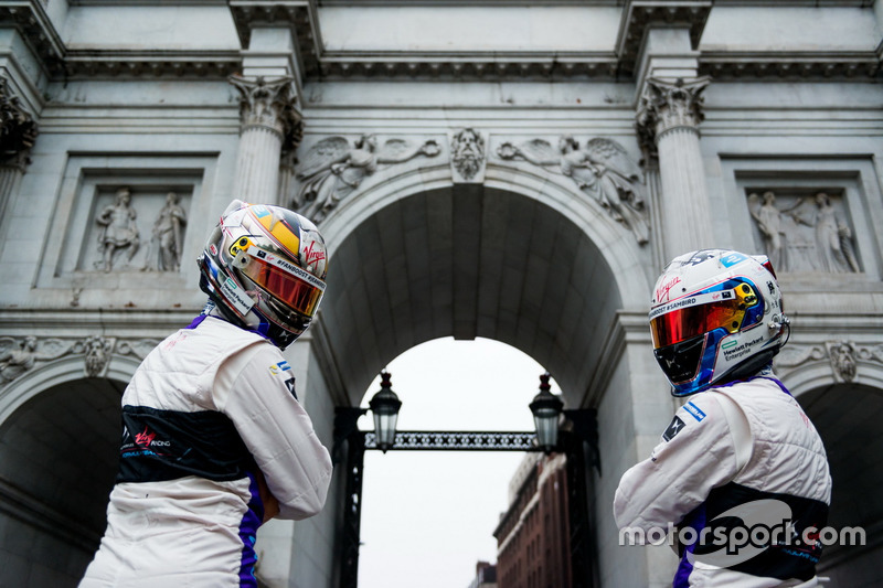 Sam Bird, DS Virgin Racing am Marble Arch