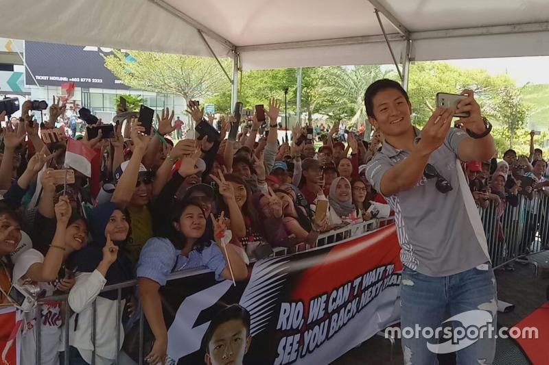 2. Rio Haryanto, Meet and Greet, Sepang, Malaysia