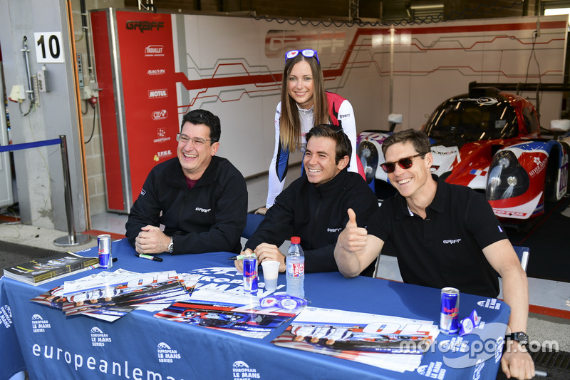 #10 Graff Racing, Ligier JS P3 - Nissan: John Falb, Sean Rayhall, Vicente Potolicchio