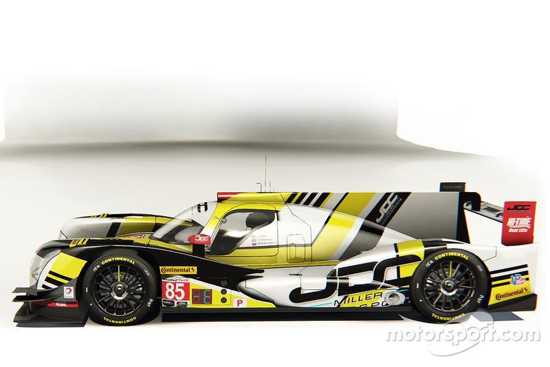 JDC-Miller MotorSports ORECA 07, LMP2-Prototyp für 2017