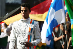 Pascal Wehrlein, Manor Racing on the grid