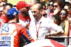 Andrea Dovizioso, Ducati Team, Claudio Domenicali, Ducati