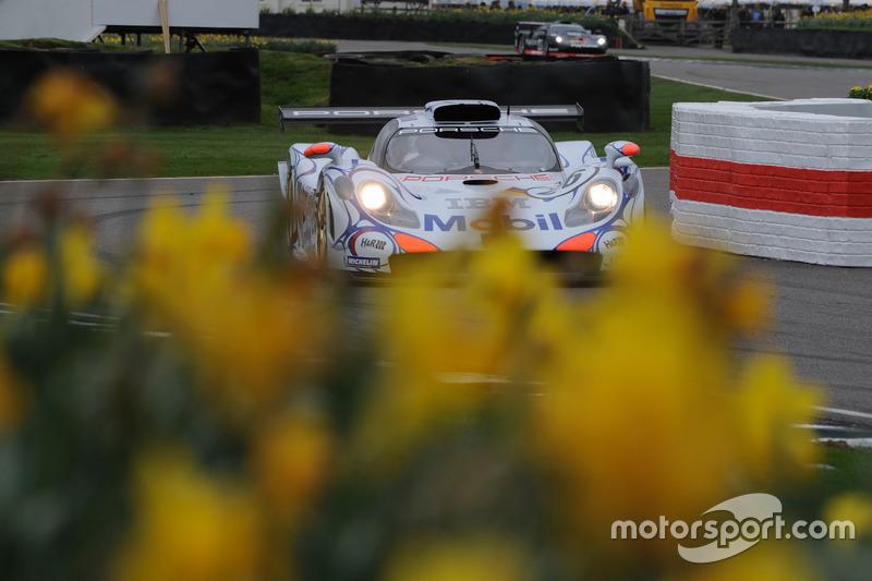 GT1-Demonstration, Dario Franchitti, Porsche