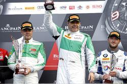 Podium AM: Winner #488 Rinaldi Racing,  Ferrari 488 GT3: Pierre Ehret, Rino Mastronardi