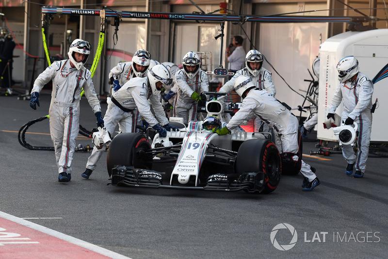 Felipe Massa, Williams FW40 ( 2 abandonos)