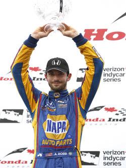 Podio: segundo lugar Alexander Rossi, Herta - Andretti Autosport Honda