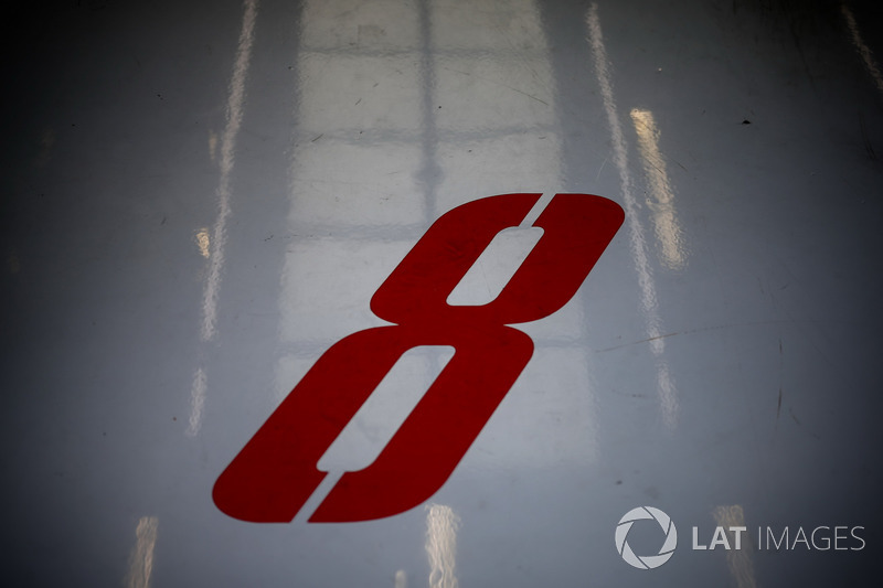 Number for Romain Grosjean, Haas F1 Team VF-17