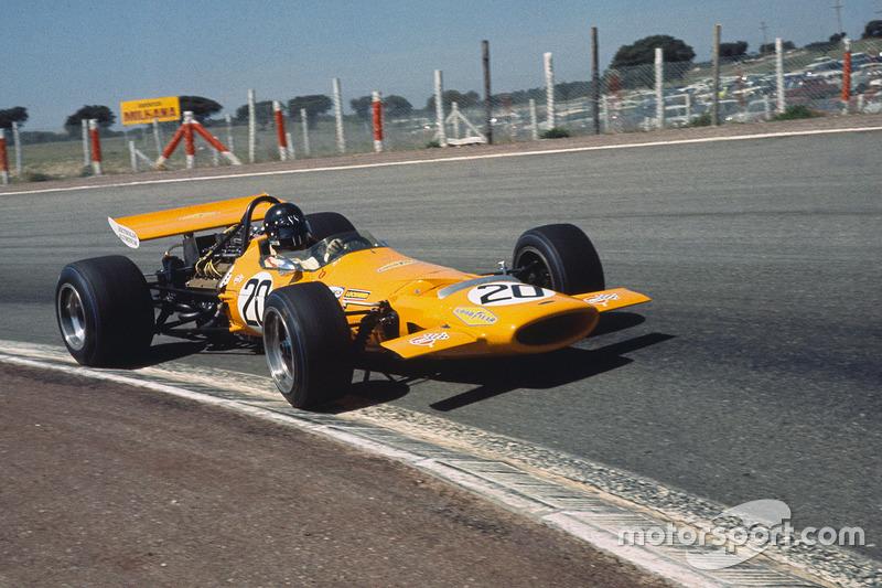 1970: McLaren M7D Ford-Cosworth (ни одного финиша)
