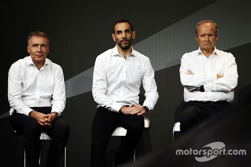 Bob Bell, Renault Sport F1 Team director técnico con Cyril Abiteboul, Managing Director de Renault S