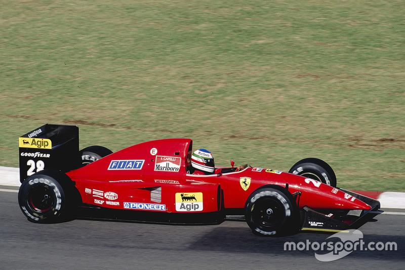 1992: Ivan Capelli, Ferrari F92A