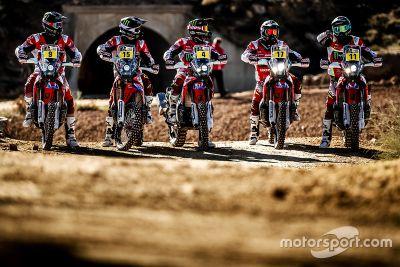 Presentazione Honda Team moto