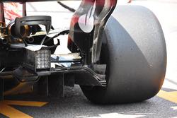 Ferrari SF70-H monkey seat detail