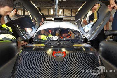 SMP Racing Monza testing