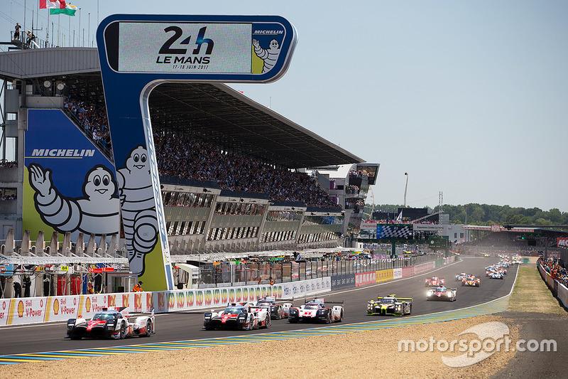 Start Le Mans 2017