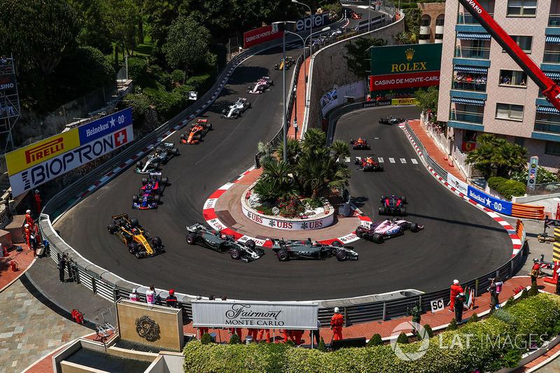 Solo 40 km/h es la velocidad de los coches de la Fórmula 1 en la horquilla del Grand Hotel. Este es el sector más lento del campeonato.