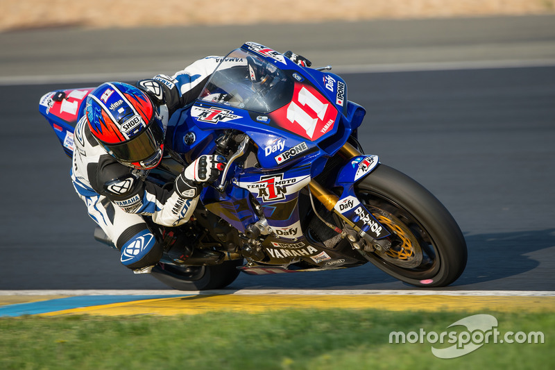 #11 Yamaha: Hugo Clere