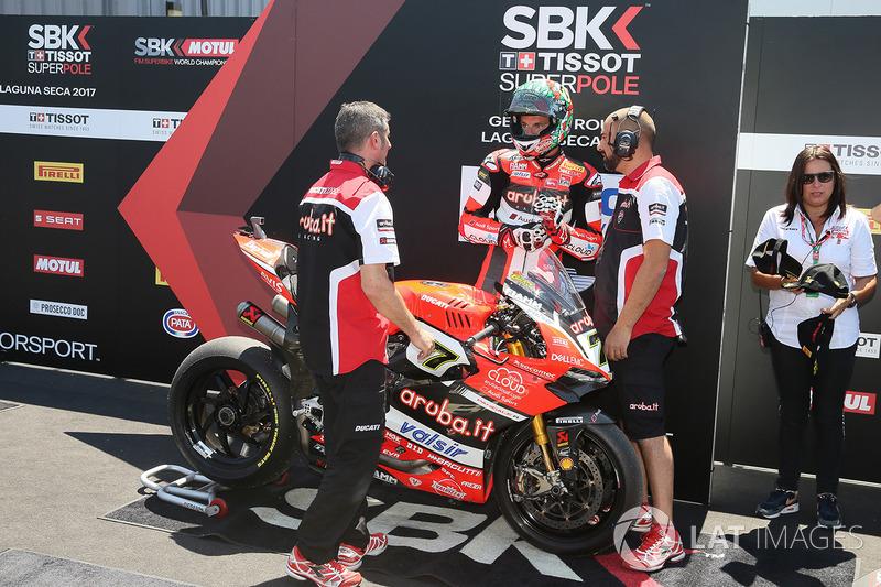 Третє місце у кваліфікації Чаз Девіс, Ducati Team