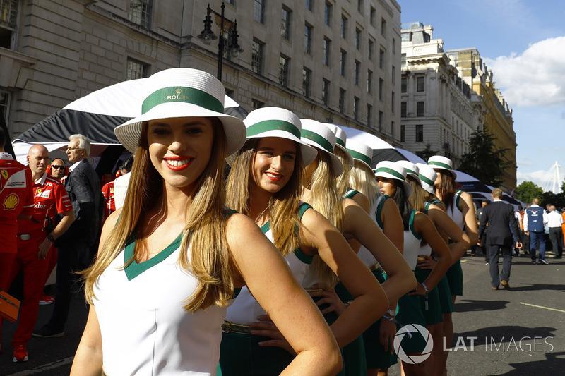 Chicas de la parrilla Rolex