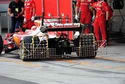 Kimi Raikkonen, Ferrari SF70H, aero sensörü
