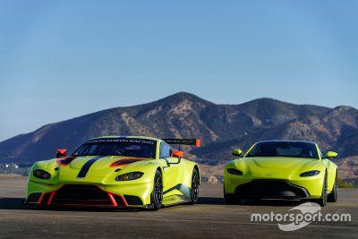 Aston Martin Vantage GTE bemutató