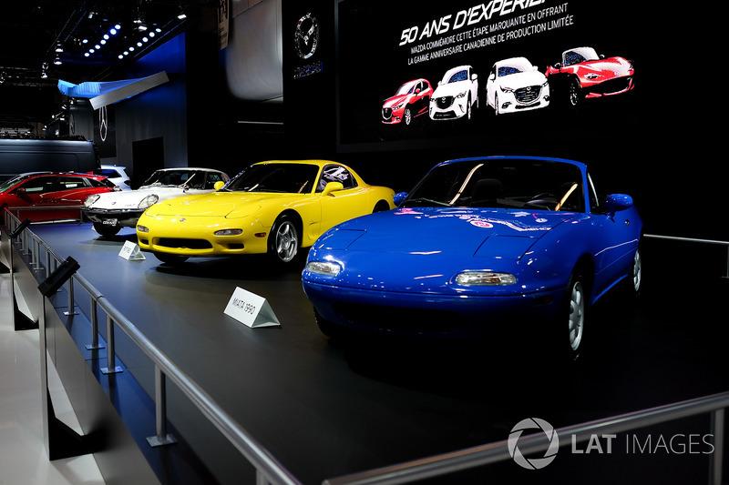 Mazda MX-5 Miata, Mazda RX-7, Mazda Cosmo