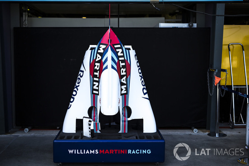 Элементы кузова Williams FW41