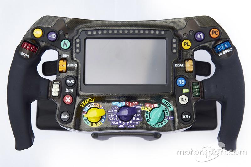 Volante della Mercedes AMG F1 W09