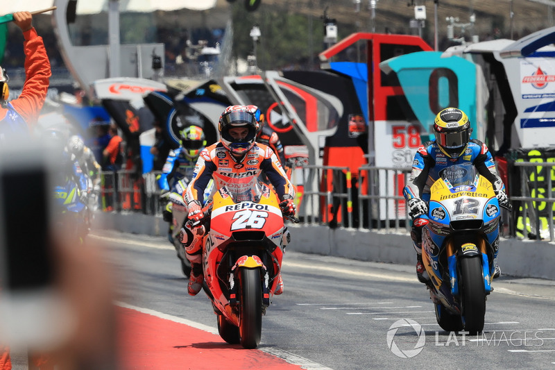 Dani Pedrosa, Repsol Honda Team, Thomas Luthi, Estrella Galicia 0,0 Marc VDS