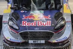 Les Champions du monde Sébastien Ogier et Julien Ingrassia, Ford Fiesta WRC, M-Sport