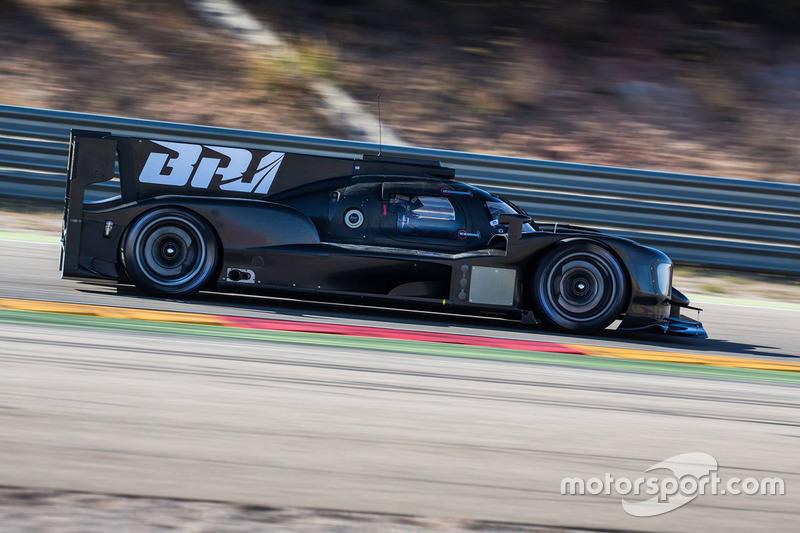La Dallara BR1 LMP1 du SMP Racing lors d'une séance d'essais
