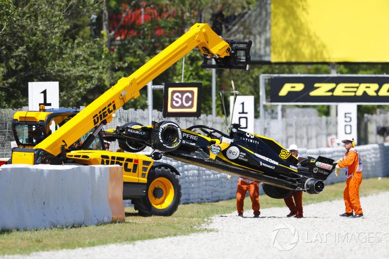 Ausfall: Nico Hulkenberg, Renault Sport F1 Team R.S. 18.