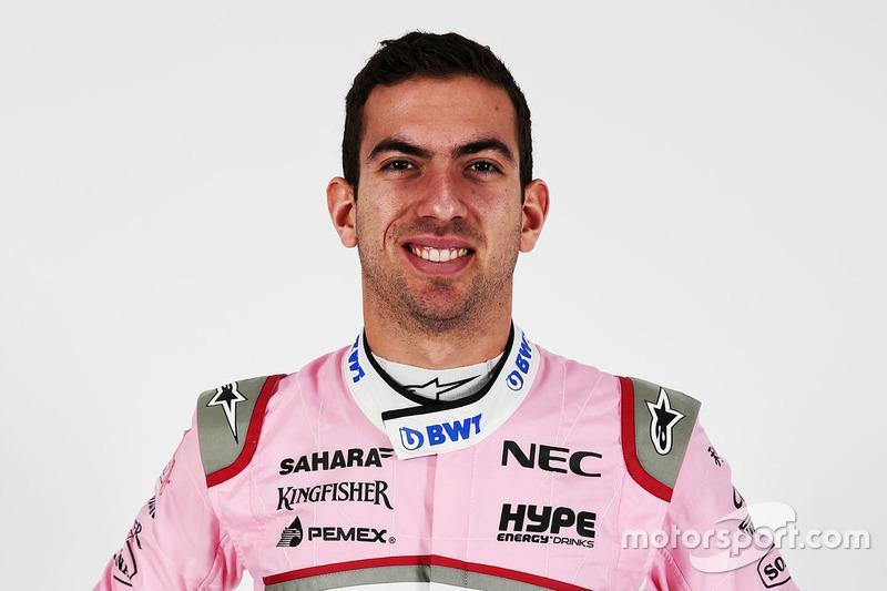 Nicholas Latifi, pilote de réserve et d'essais Force India