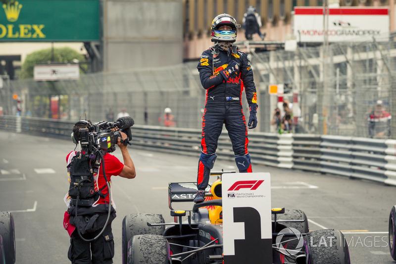Победитель Даниэль Рикардо, Red Bull Racing RB14
