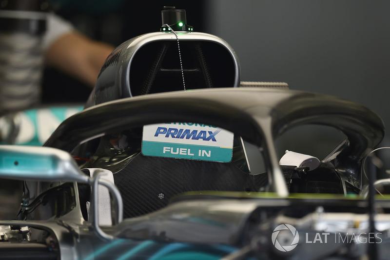 Mercedes-AMG F1 W09 EQ Power+ halo