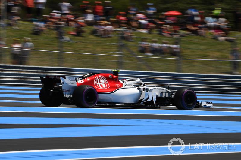 14. Charles Leclerc, Sauber C37