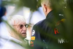 Берни Экклстоун и спортивный консультант Red Bull Хельмут Марко
