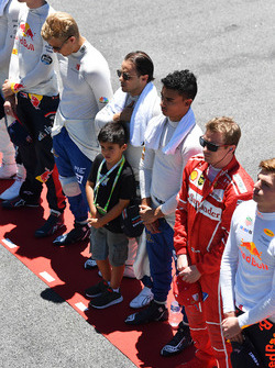 Felipe Massa, Williams with his son Felipinho Massa