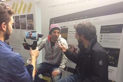 Marco Melandri, Ducati, al Meet Motorsport