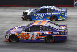 Denny Hamlin, Joe Gibbs Racing, Toyota Camry FedEx Freight, Martin Truex Jr., Furniture Row Racing, Toyota Camry Auto-Owners Insurance