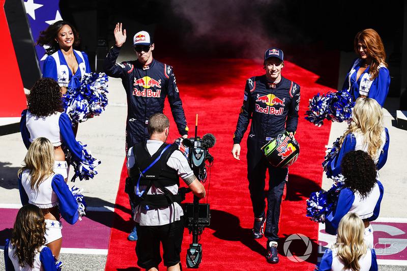 Daniil Kvyat, Scuderia Toro Rosso, Brendon Hartley, Scuderia Toro Rosso