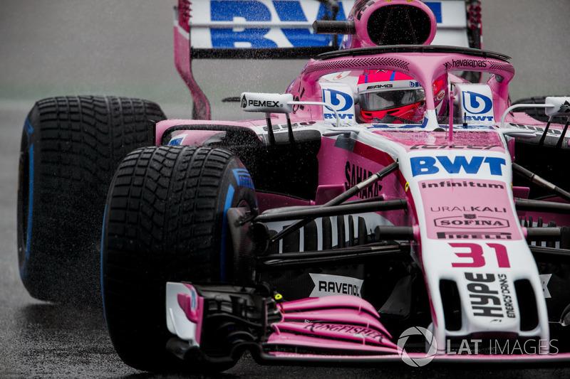 Esteban Ocon - Force India: 8