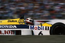 Il vincitore della gara Nelson Piquet, Williams FW1