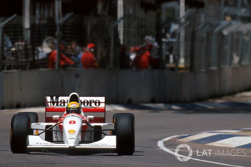 Ayrton Senna, McLaren MP4/8