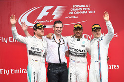Podium: 1. Lewis Hamilton, Mercedes; 2. Nico Rosberg, Mercedes; 3. Valtteri Bottas, Williams