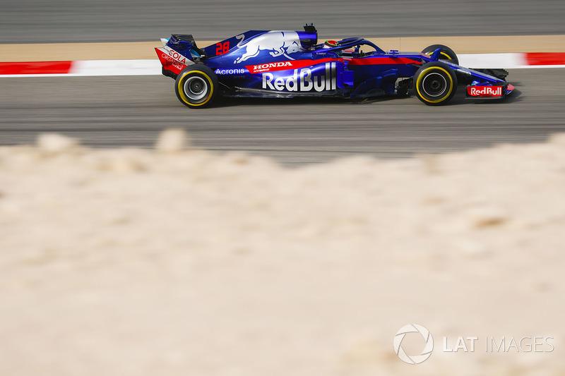 Brendon Hartley, Toro Rosso STR13 Honda