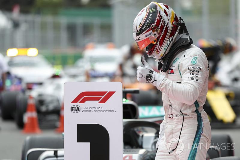 63 - GP de Azerbaiyán 2018, Mercedes