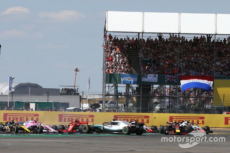 Gran Bretaña- Kimi Räikkönen/Lewis Hamilton (carrera)