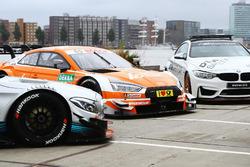 Машини безпеки Mercedes-AMG C63 DTM, Audi RS 5 DTM та BMW M4 GTS
