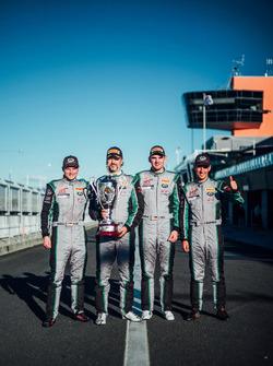 #540 Black Swan Racing Porsche 911 GT3 R: Tim Pappas, Jeroen Bleekemolen, Luca Stolz, Marc Lieb