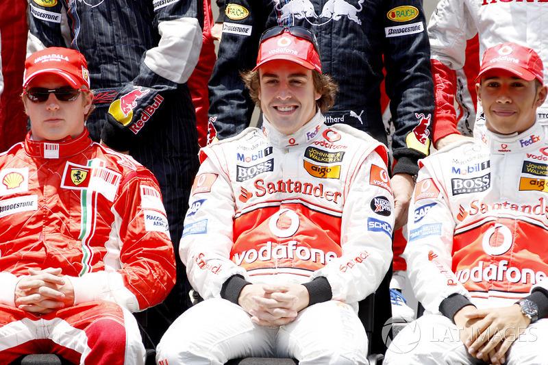 Compañeros en F1: 15